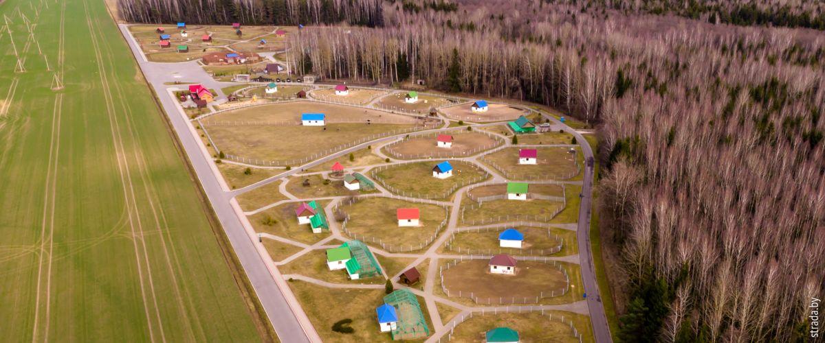 Зоосад в центре экологического туризма «Станьково»