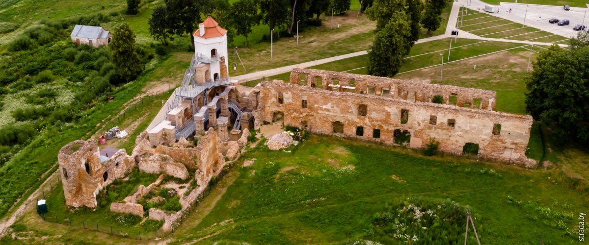 Гольшаны: замок, костел, церковь, водяная мельница и другие достопримечательности