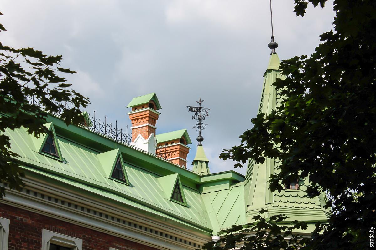 Усадьба Козелл-Полевских. Красный Берег, Жлобинский район Гомельской области