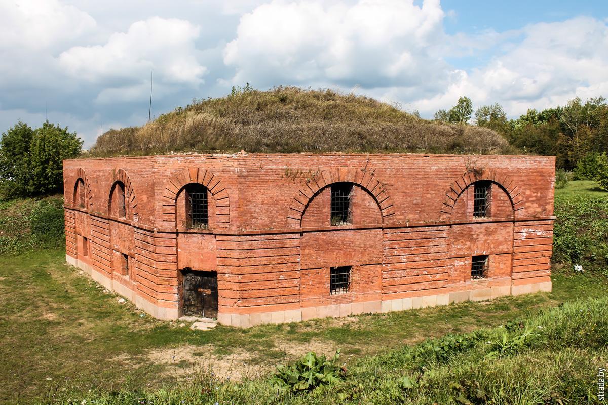 Бобруйская крепость: редюит правого входящего плацдарма