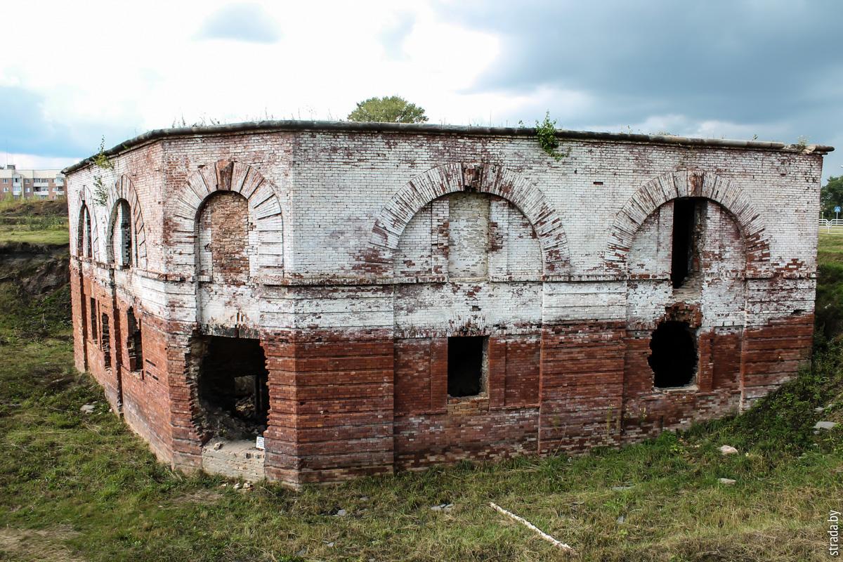 Бобруйская крепость: редюит правого входящего плацдарма равелина