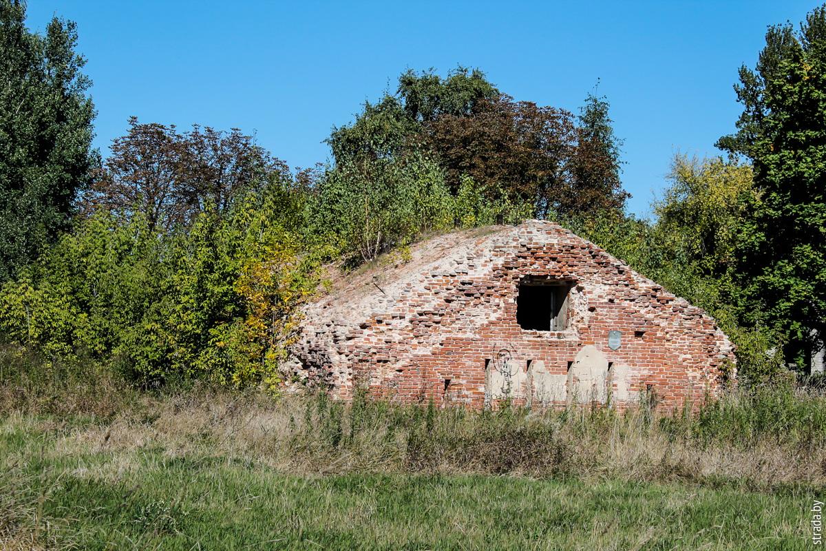Бобруйская крепость: пороховой склад