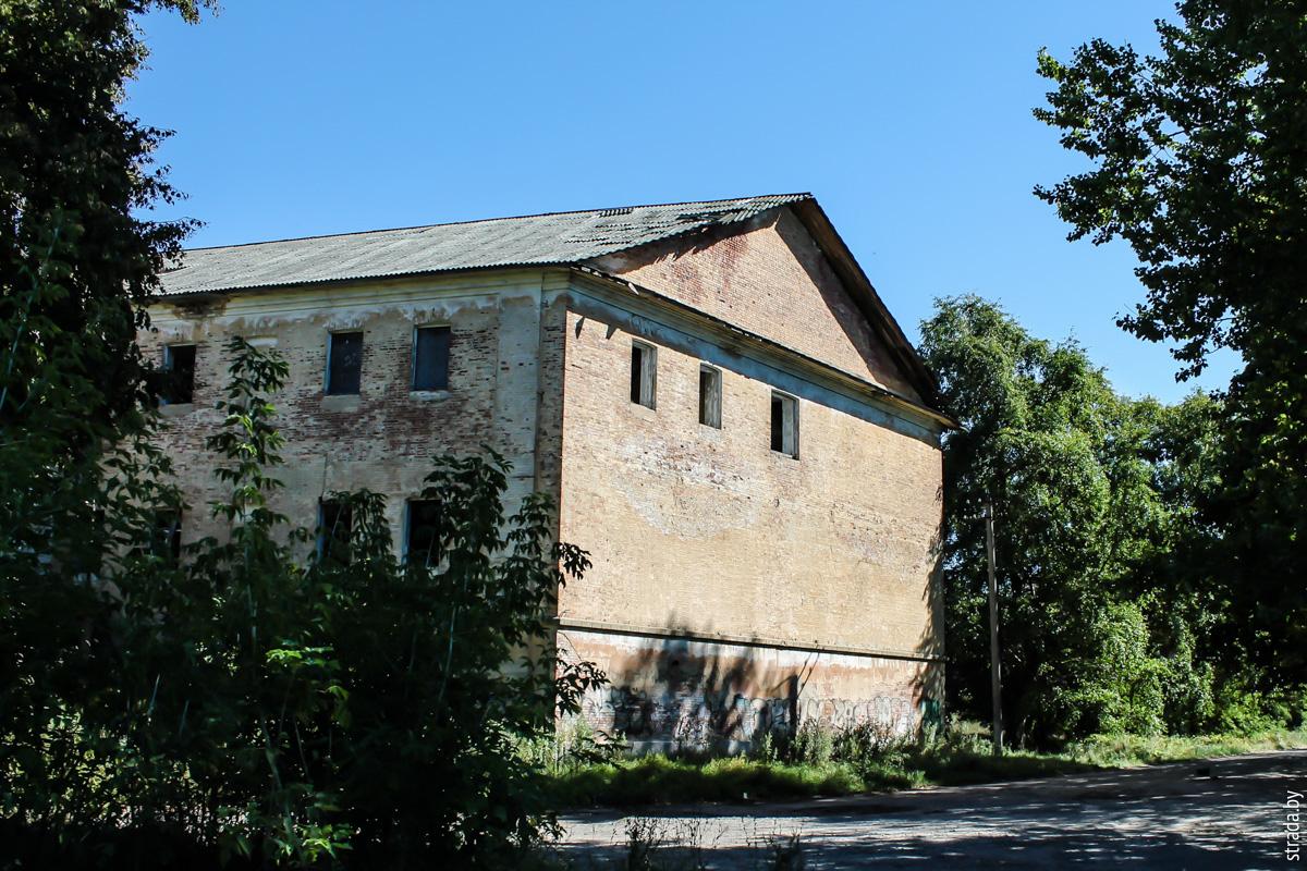 Бобруйская крепость: казармы