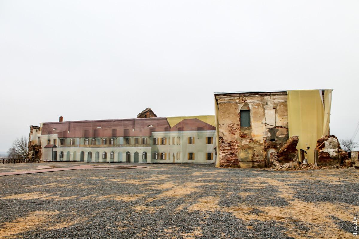 Замок Ходкевичей и Сапег, Быхов, Быховский район, Могилёвская область