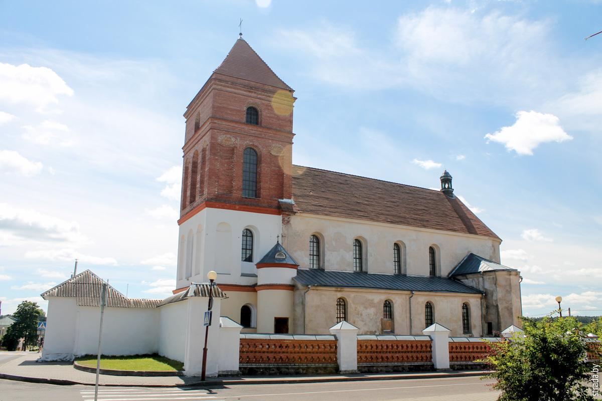 Костёл святого Николая, Мир, Кореличский район, Гродненская область