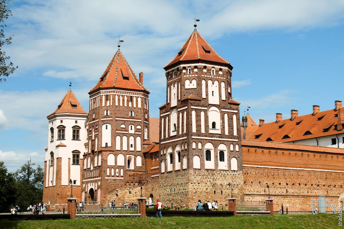 Мирский замок, Мир, Кореличский район, Гродненская область