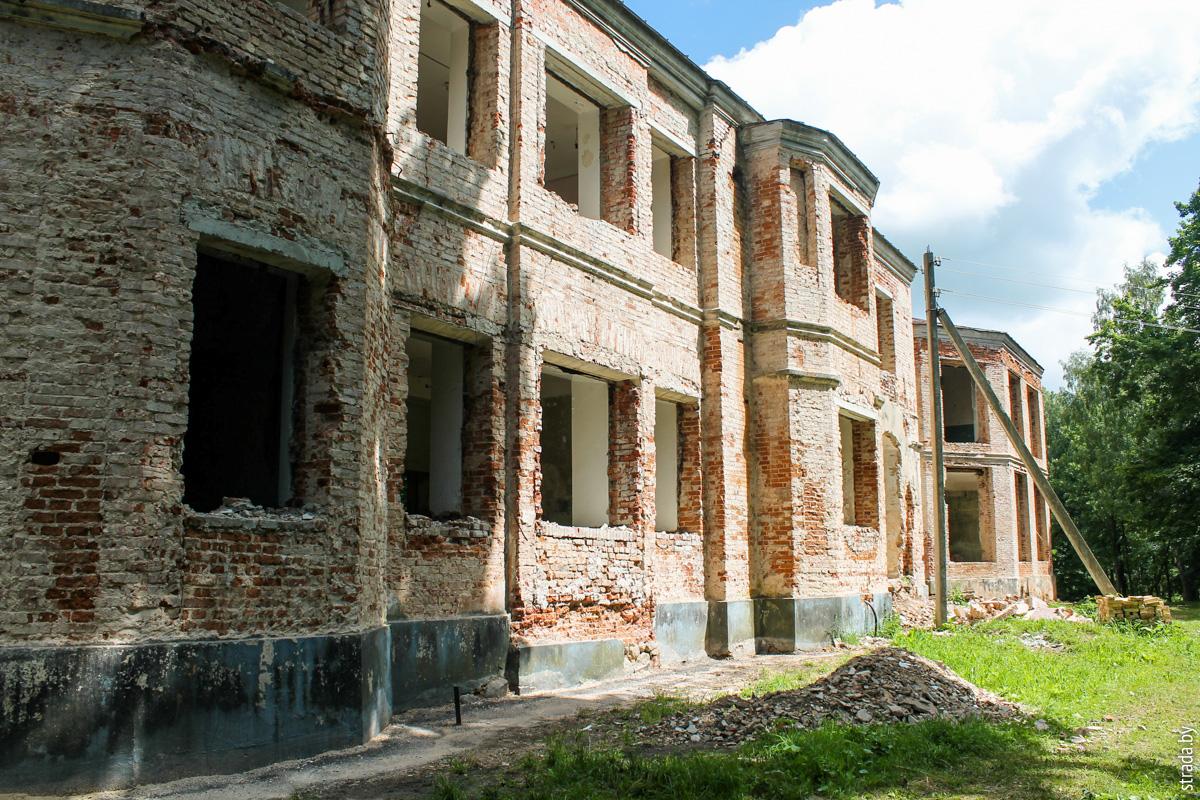 Дворец Монюшко-Ваньковичей, Смиловичи, Червенский район, Минская область