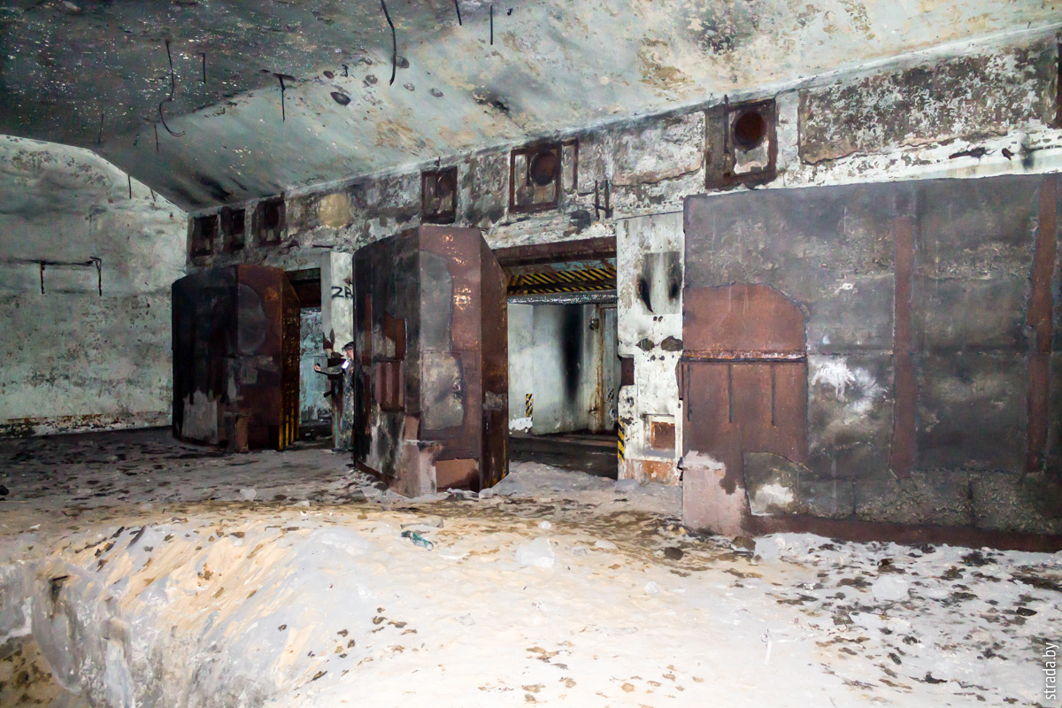 Аэродромное хранилище ядерных боеприпасов, Бобруйск, Бобруйский район, Могилевская область