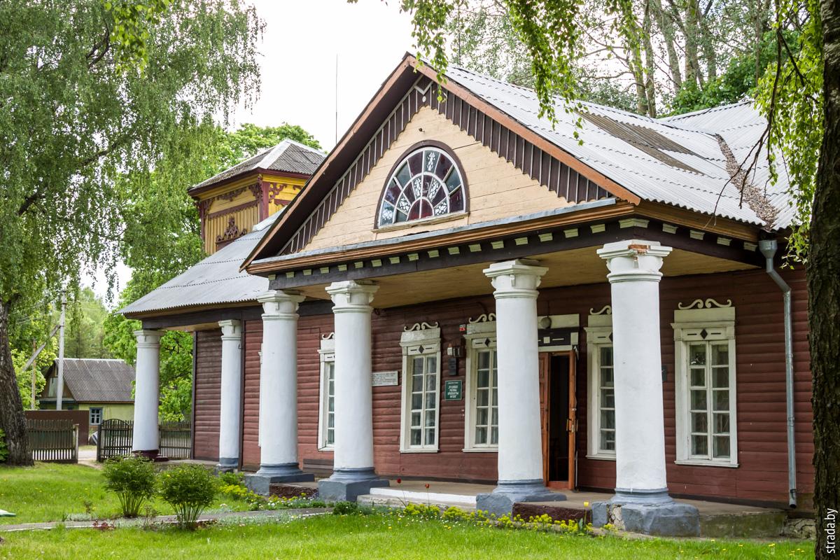 Усадьба Бонч-Осмоловских, Блонь, Пуховичский район, Минская область