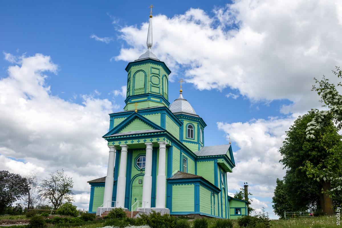 Церковь Троицкая, Блонь, Пуховичский район, Минская область