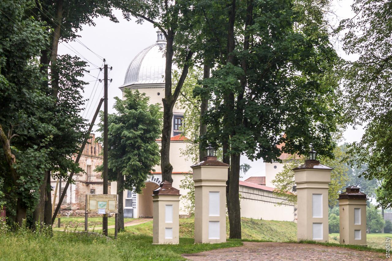 Любчанский замок, Любча, Новогрудский район, Гродненская область