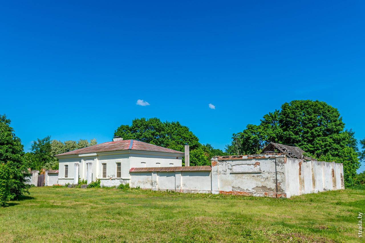 Почтовая станция, Симоновичи, Глусский район, Могилевская область
