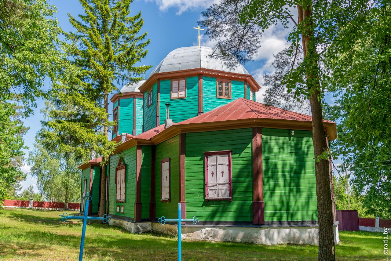 Церковь св. Космы и Дамиана, Городок, Глусский район, Могилевская область