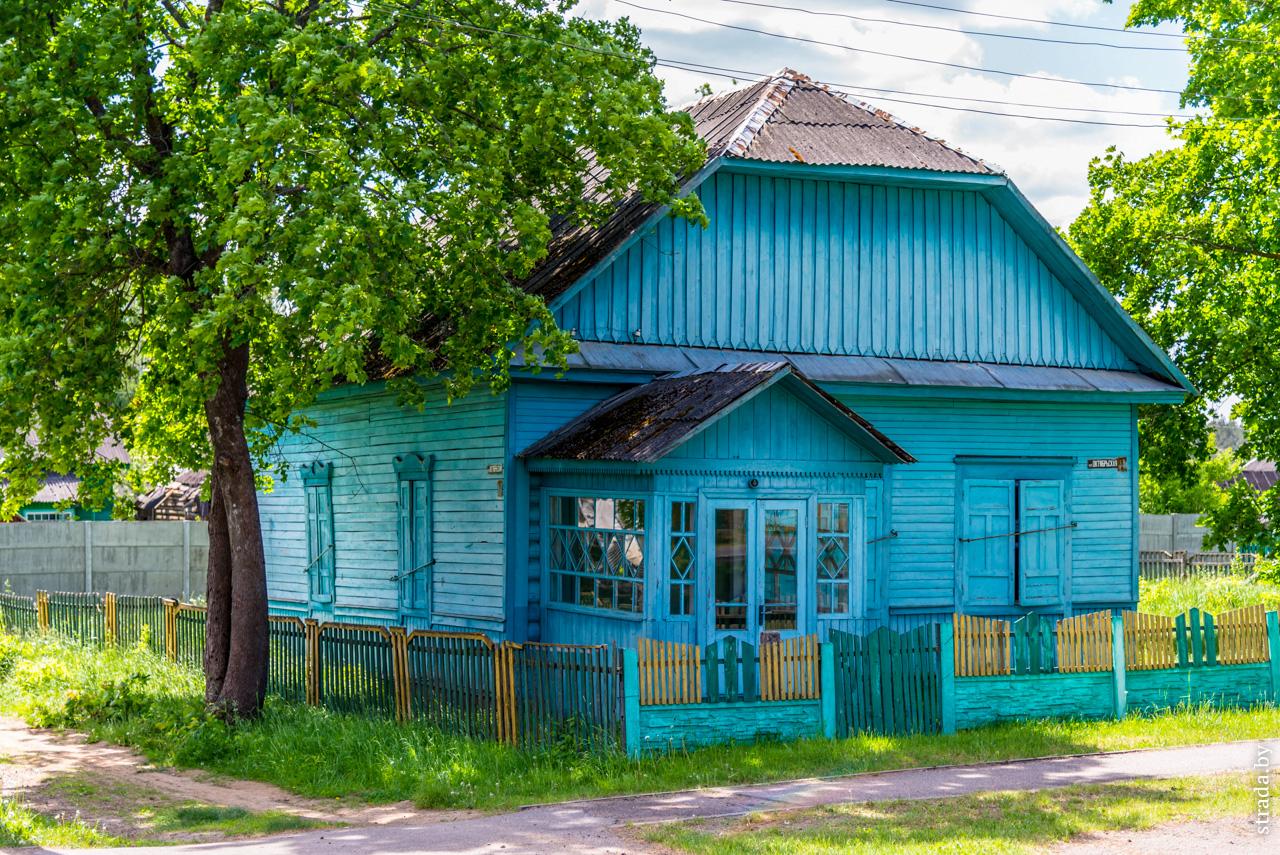 Здание бывшей аптеки, Глуша, Бобруйский район, Могилёвская область