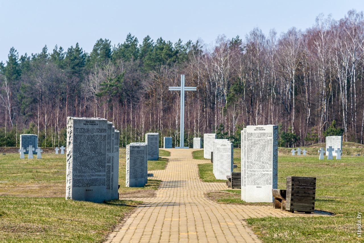 Немецкое военное кладбище Щатково, Черница, Бобруйский район, Могилевская область