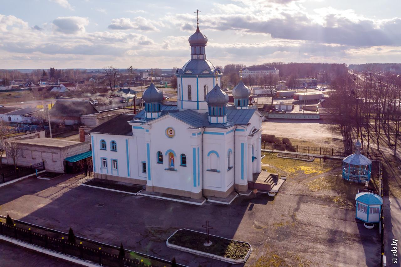 Храм Покрова Пресвятой Богородицы, Довск, Рогачёвский район, Гомельская область