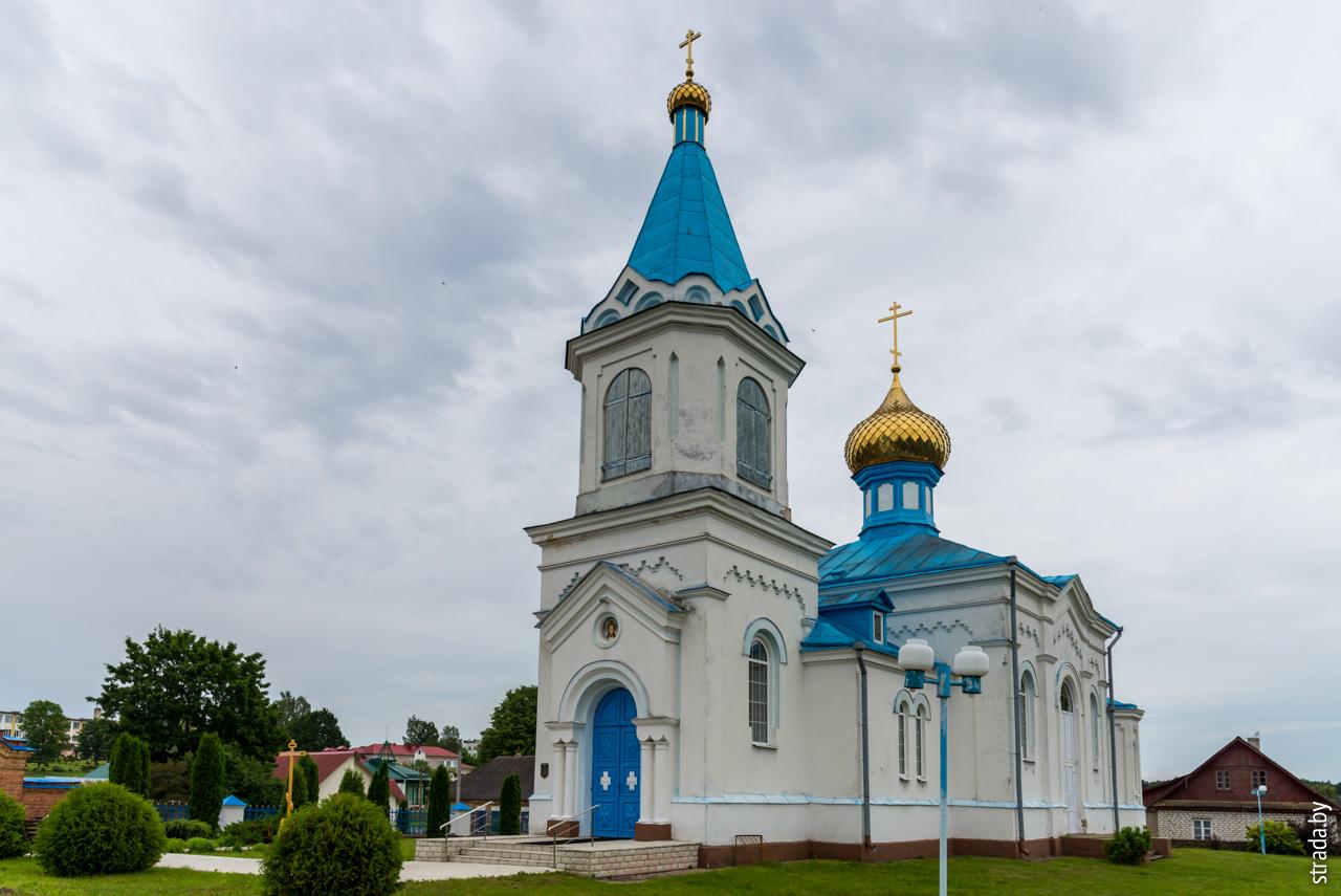 Церковь св. Георгия, Гольшаны, Ошмянский район, Гродненская область