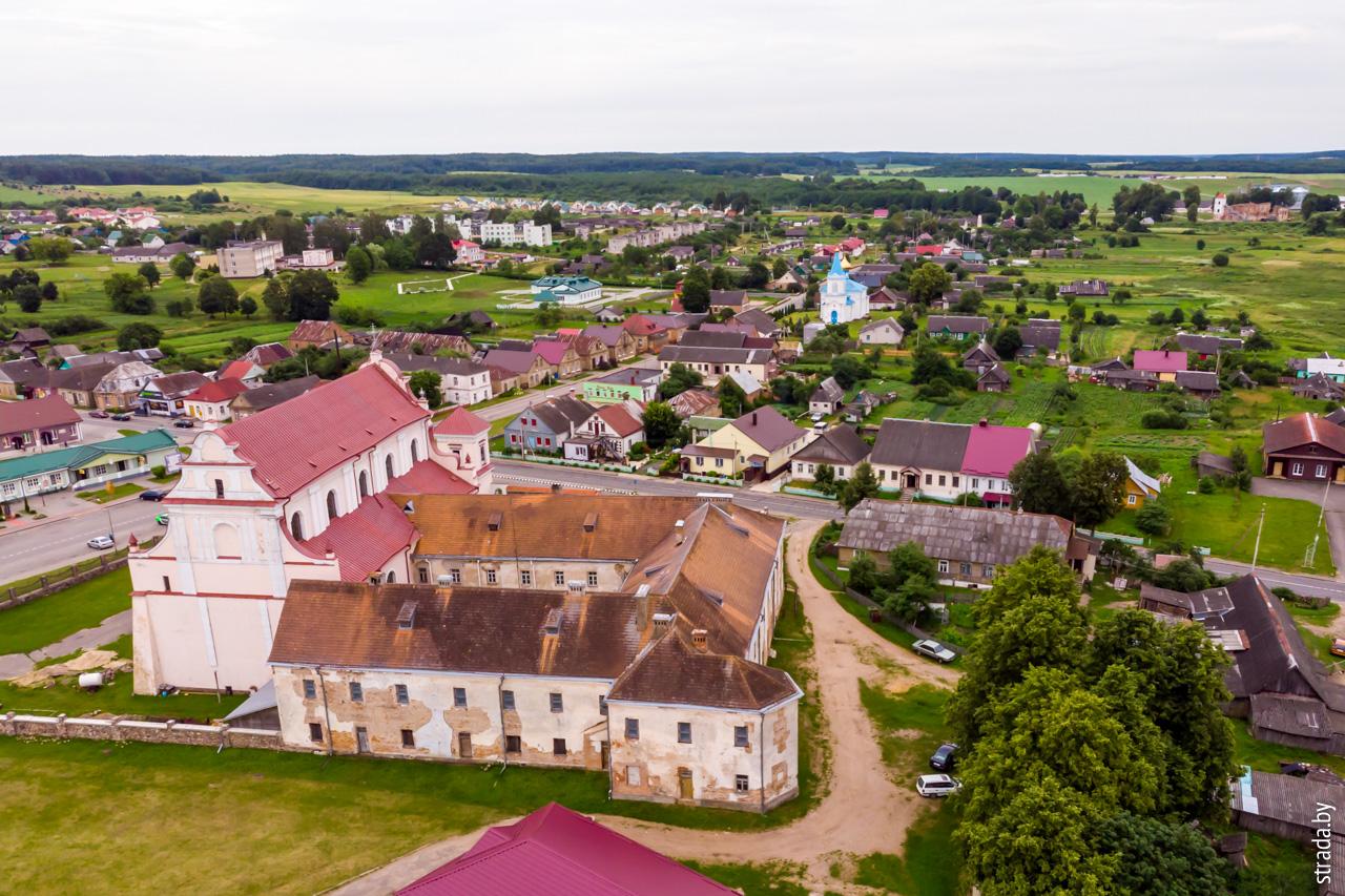 жилой корпус монастыря францисканцев, Гольшаны, Ошмянский район, Гродненская область