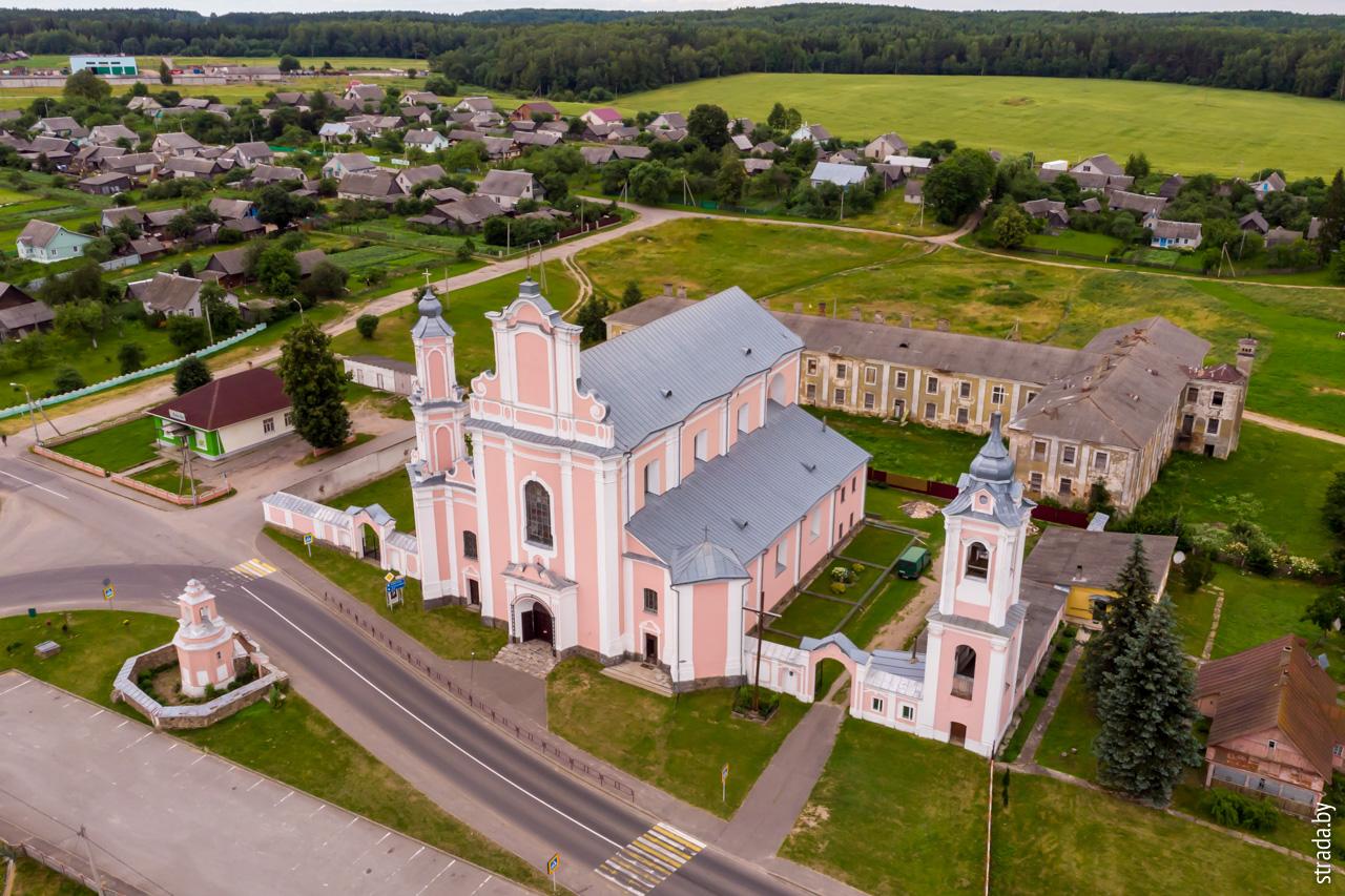 Костел св. Петра и Павла, Боруны, Ошмянский район, Гродненская область
