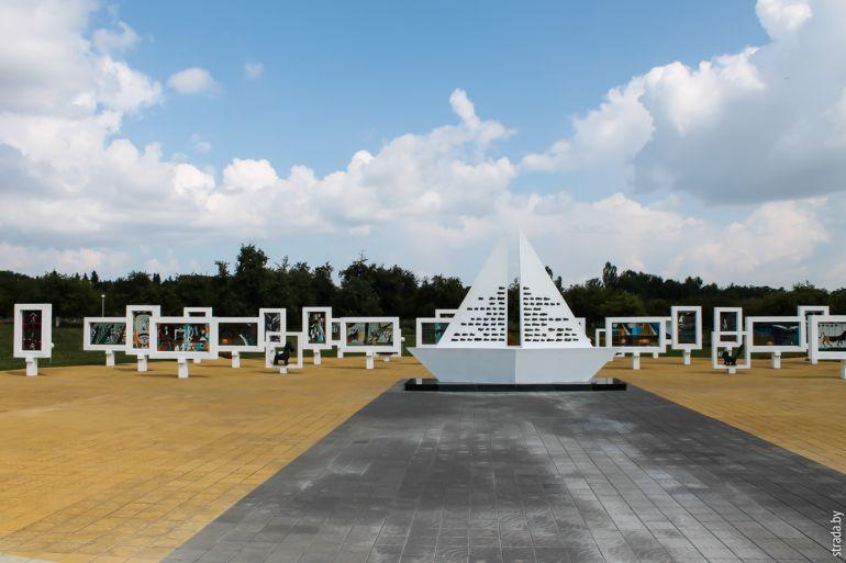 Мемориальный комплекс на месте концлагеря