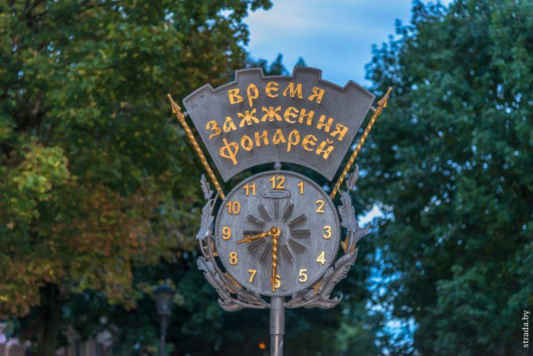 Керосиновые фонари на Советской
