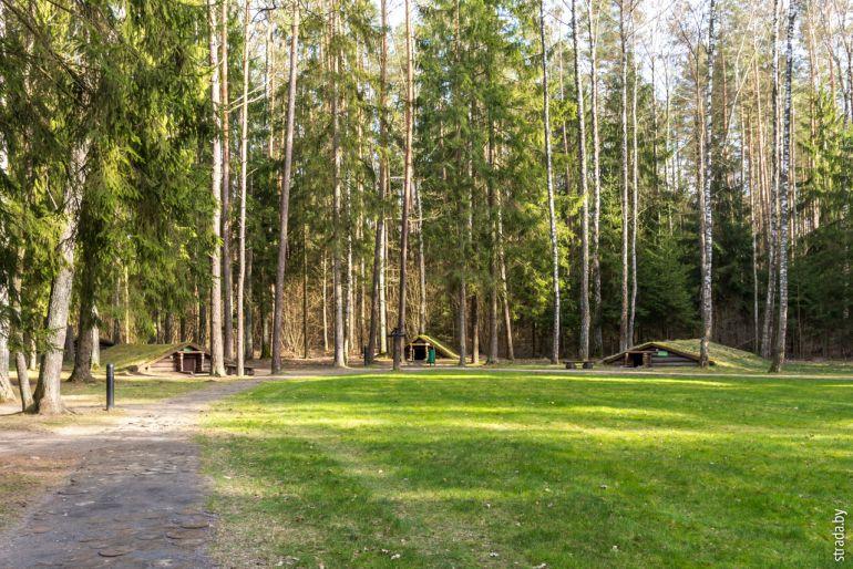 партизанский лагерь