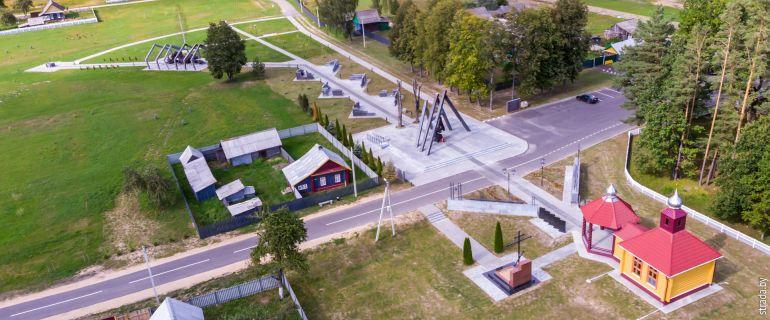 Мемориальный комплекс в Борках